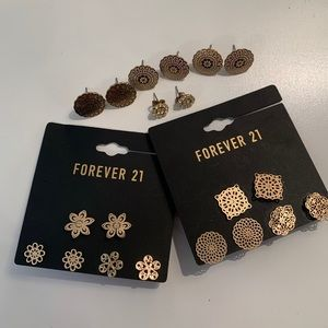 Ten pairs of Stud Earrings